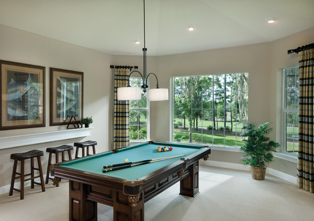 Amelia 1124 Traditional Family Room Tampa By