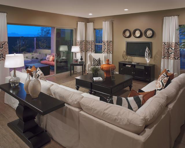 Anapolis Plan at Easton Green at Eastmark | Phoenix, AZ traditional-family-room