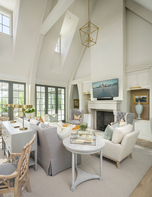ancient modern traditional family room by jackson and leroy