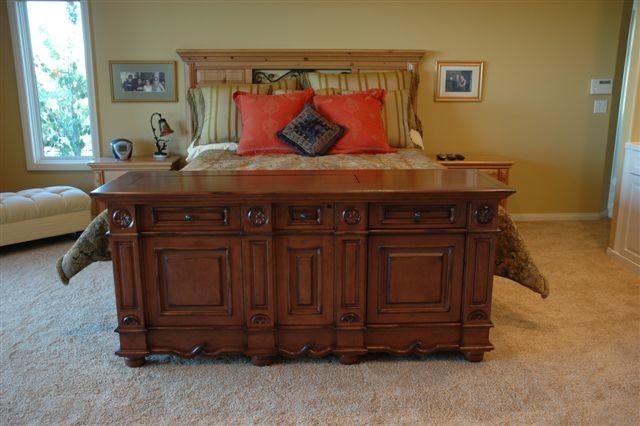 Andaluz pop up tv lift cabinet cabinet tronix hidden tv - Retractable tv cabinet living room furniture ...