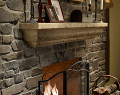 Angelo Fireplace Surround contemporary-indoor-fireplaces