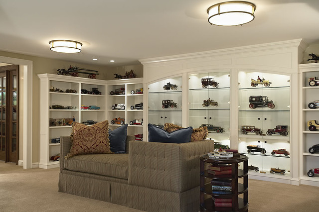 Antique Toy Collection Gallery Contemporary Family Room Minneapolis By Erotas Building