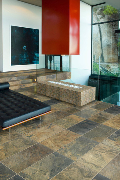 Apollo Legend By Florida Tile Modern Family Room