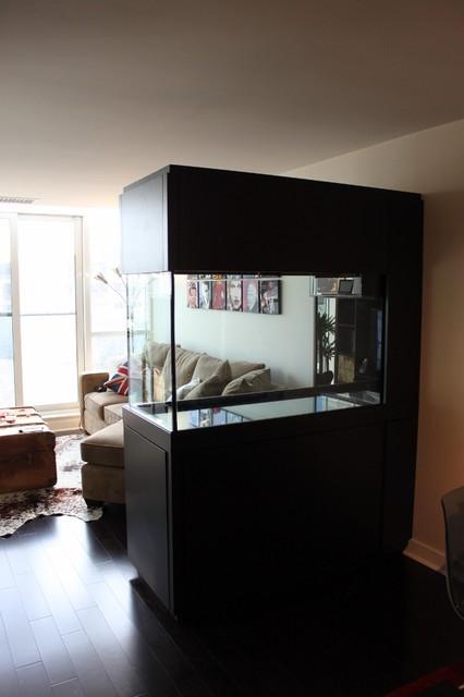 Aquarium cabinet for 120 gallon tank - Contemporary - Family Room - toronto - by Norcon Home ...