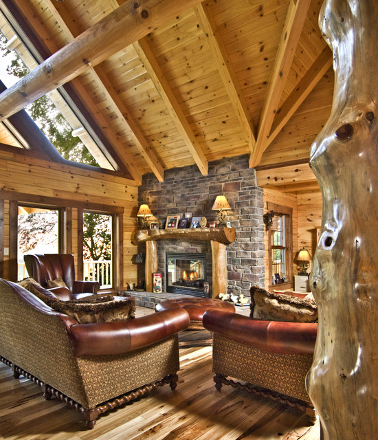 Architectural Variety traditional-family-room