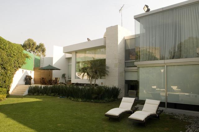 arco arquitectura contemporary-family-room