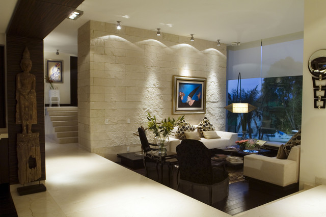 arco arquitectura contemporary family room