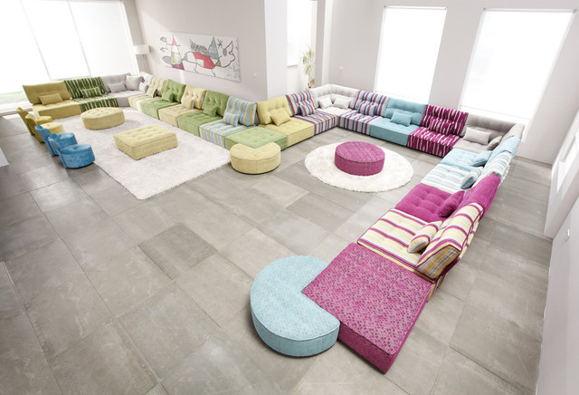 Arianne Love Modular Sectional Sofa by Famaliving California ...