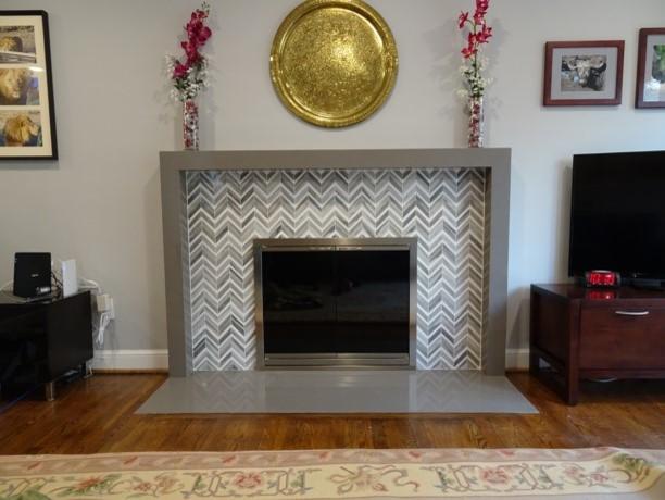 Arlington Transitional Fireplace