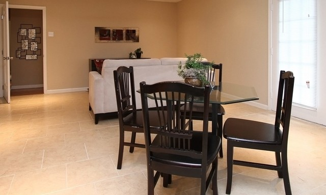 Array Investments & Houston Home Staging... transitional-family-room
