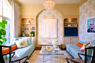 Art installations eclectic family room dallas by for Blue print store dallas