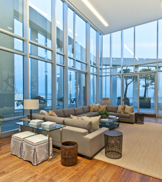 Arthur McLaughlin & Associates contemporary-family-room