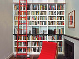 contemporary family room Aim High: What to Know About Adding a Library Ladder (16 photos)