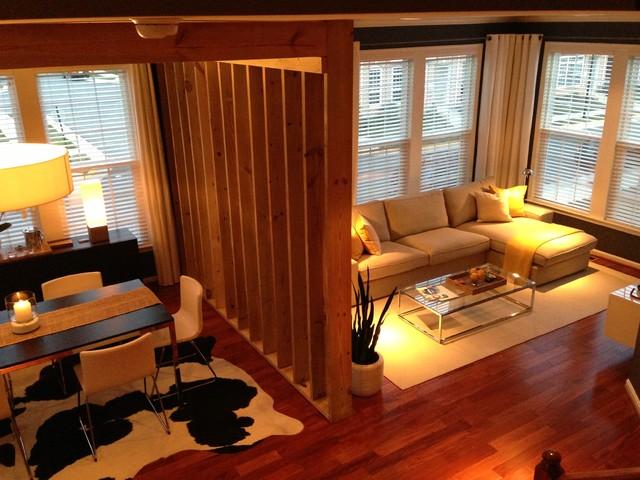 Ashburn Virgina Residential Living Room Dining Room And Den