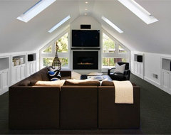 Ashbury Residence contemporary media room