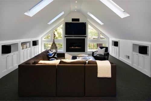 Ashbury Residence contemporary media room