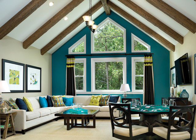 Asheville 1219 Traditional Family Room Tampa By