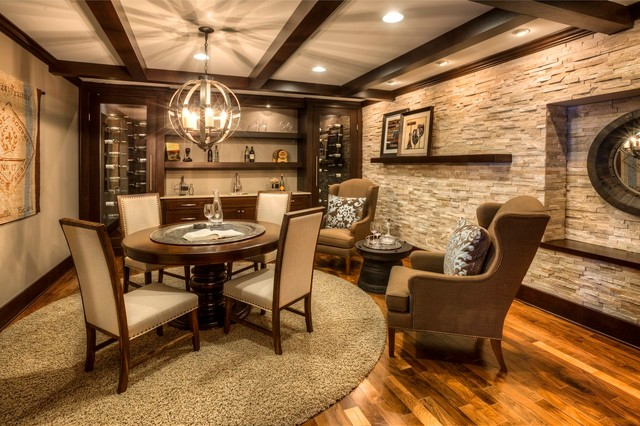 ashton woods atlanta basements traditional family room