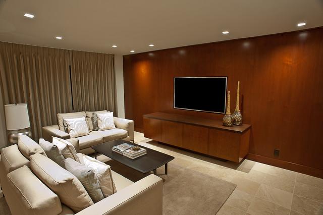 Aspen Oak contemporary-family-room