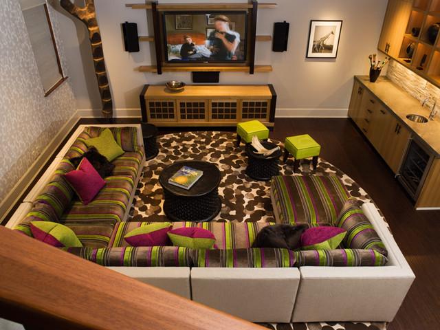 Aspen Retreat contemporary-family-room