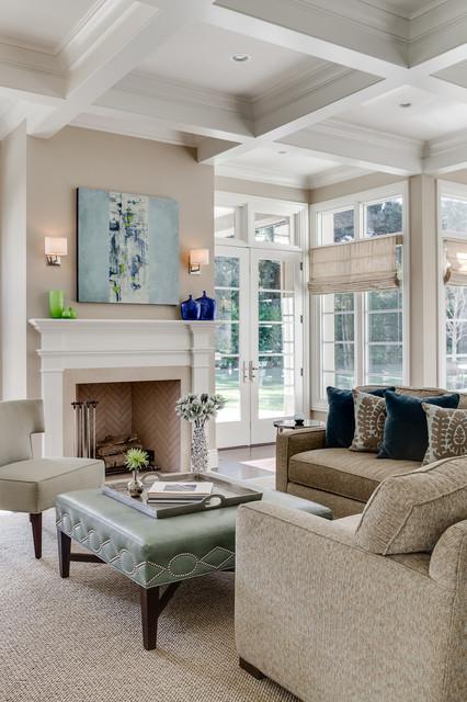 Atherton Estate traditional-family-room