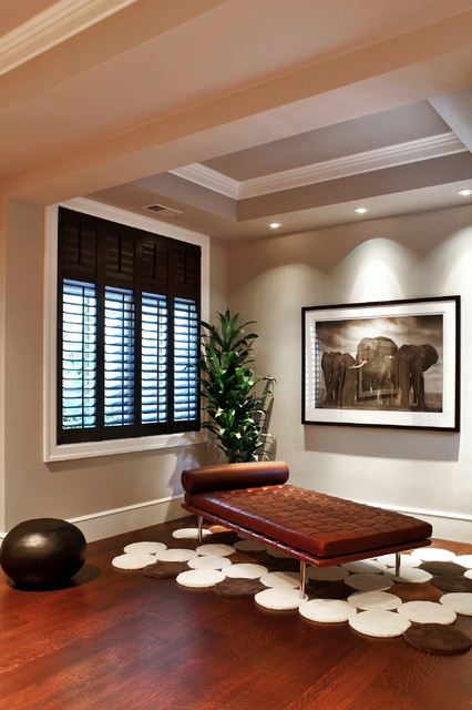 Atherton contemporary-family-room