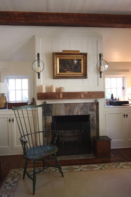 Atlanta Cape Traditional Family Room