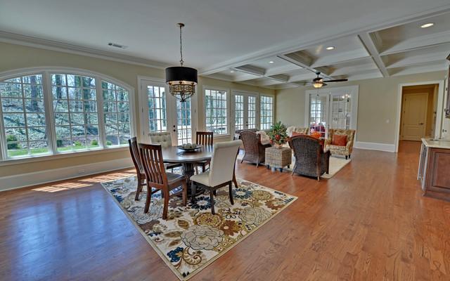 Atlanta georgia custom homes traditional family room for Atlanta custom home builders