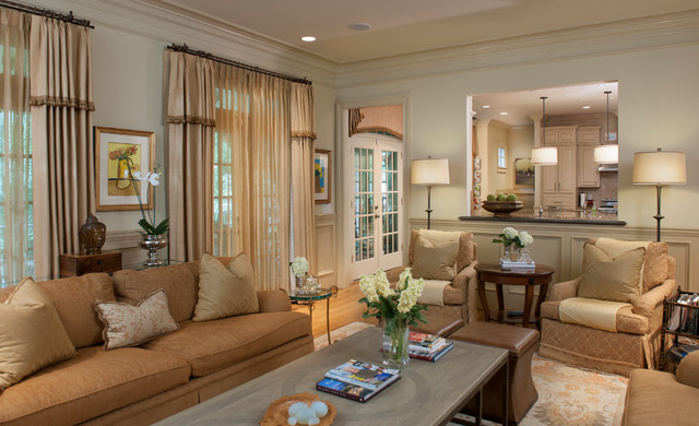 Atlanta Residence Transitional Family Room