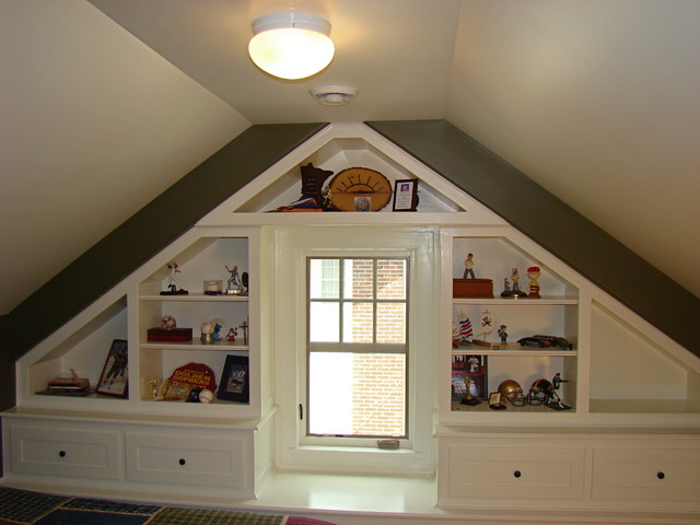 Attic Remodel, South Minneapolis - Traditional - Family Room ...