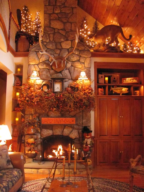 Autumn living traditional family room boston - Pictures of decorated living rooms ...