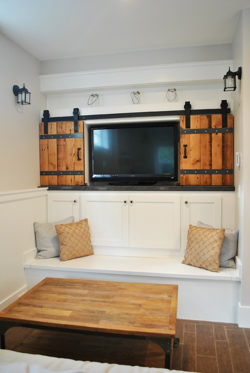 Cabinet Doors If Your Tv Is Recessed