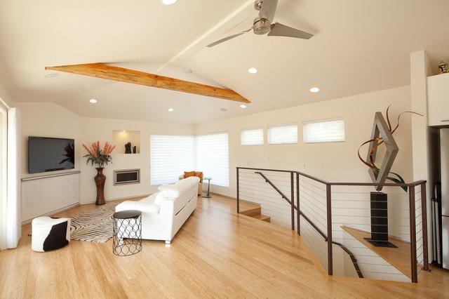 Bamboo Door & Floors modern-family-room