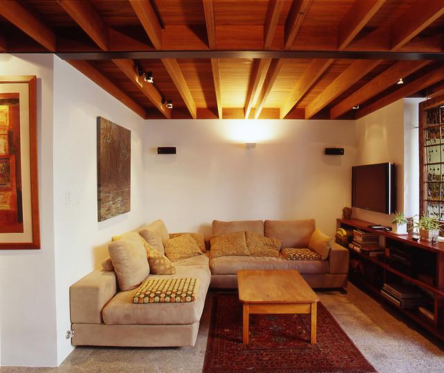 Bandi Drew House contemporary-family-room