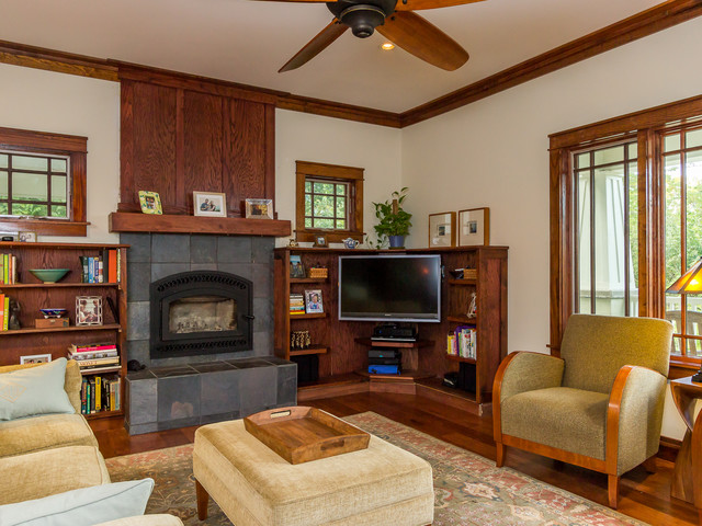 Bankhead Craftsman Family Room Other By Parker Studios