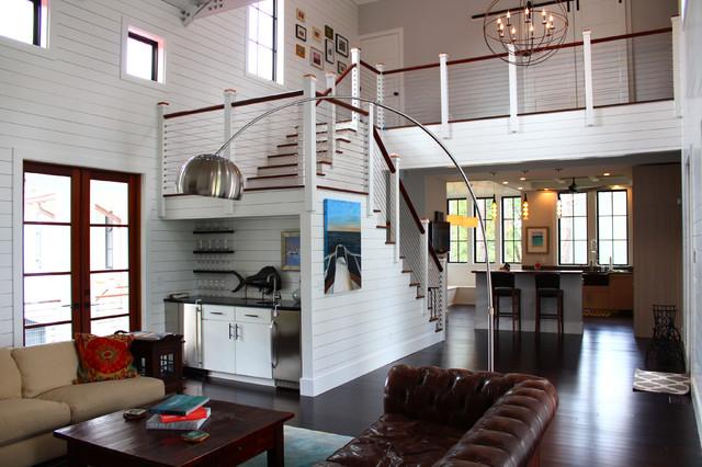 Barber residence kolonialstil wohnzimmer charleston von barbershop architecture for Wohnzimmer kolonialstil