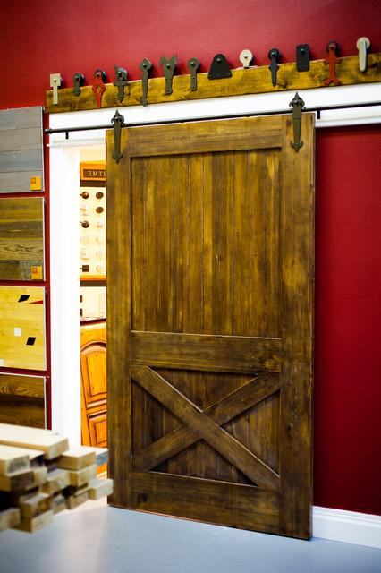 Barn Door Display