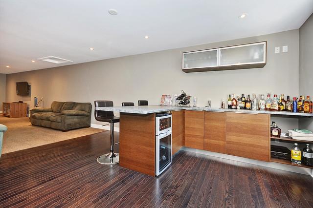 Bars contemporary-family-room