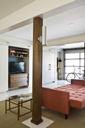 Family room - family room idea in Austin
