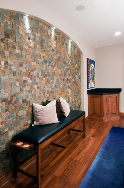 Basement Design and Remodeling-- Hawthorn Woods, Il traditional-living-room