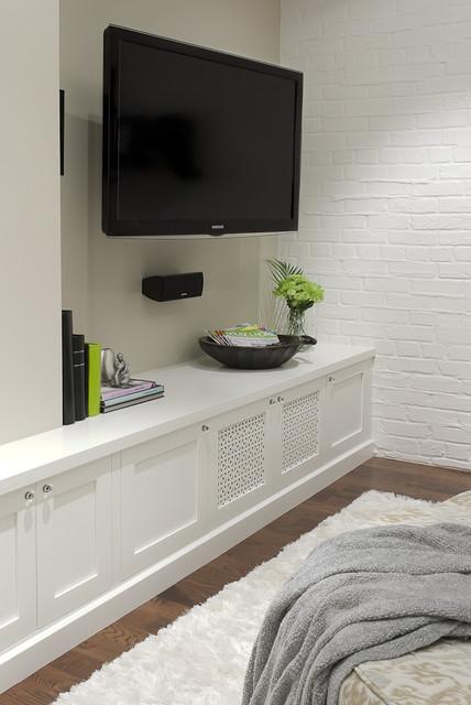 Basement Family Room & Media contemporary-family-room