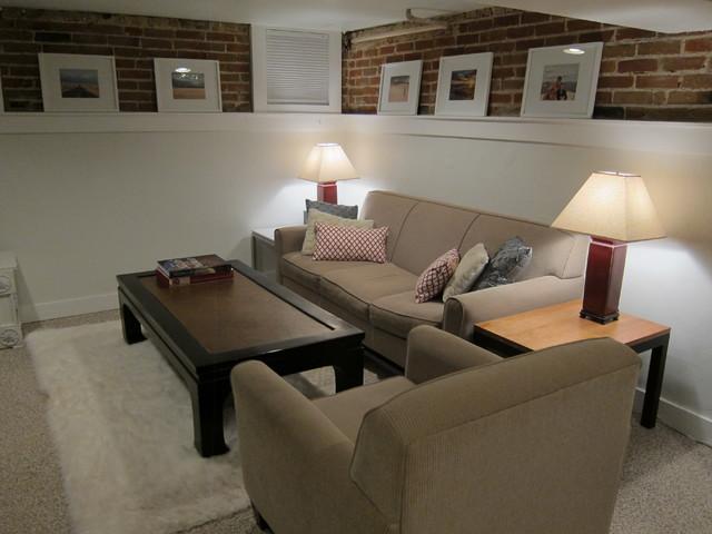 basement family room contemporary family room denver by