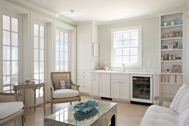 Beach Cottage Beach Style Family Room Other Metro By Kdw Home Kitchen Designworks