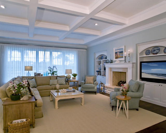 Beach Residence traditional-family-room