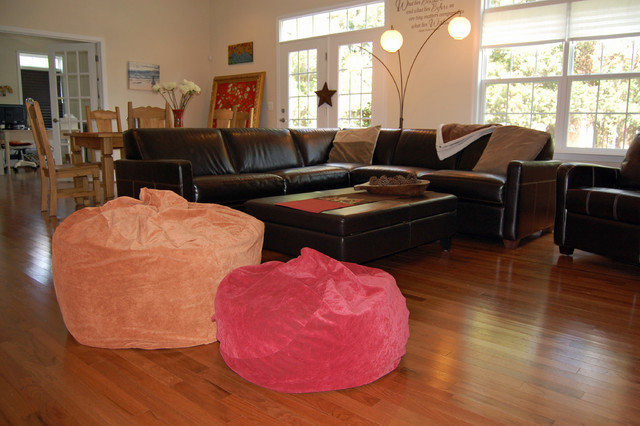 Bean Bag Chairs For Interior Design Traditional Family Room