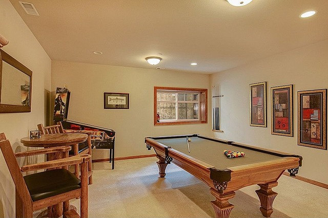 Bellevue Craftsman House traditional-family-room