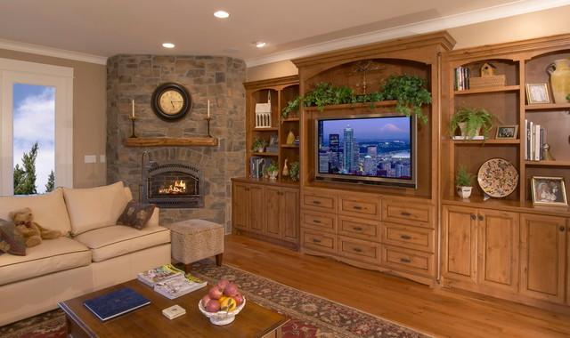 Bellevue Custom traditional-family-room