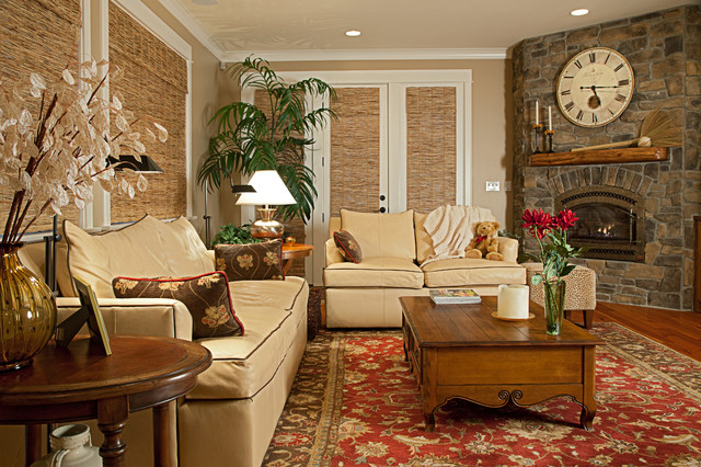 Bellevue - Family Room traditional-family-room