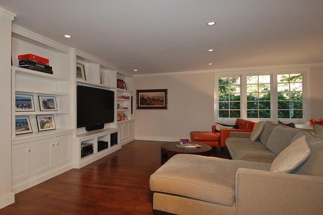 Belvedere CA Waterfront Mid Century MODERN ReAnimation modern-family-room