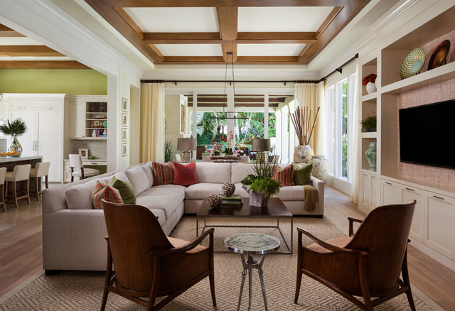 Bentley Model - Transitional - Family Room - Miami - by ...